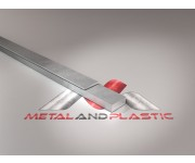 "Aluminium Flat Bar 3/4"" x 5/8"" x 4ft"