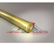 "Brass Round Bar Rod 1.5"" or 1 1/2"" x 880mm"