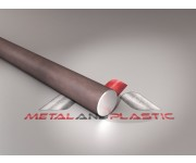 Bright Mild Steel Rod Round Bar Rod 22mm x 2m