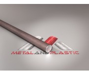 "Bright Mild Steel Rod Round Bar Rod 1/4"" x 3m"